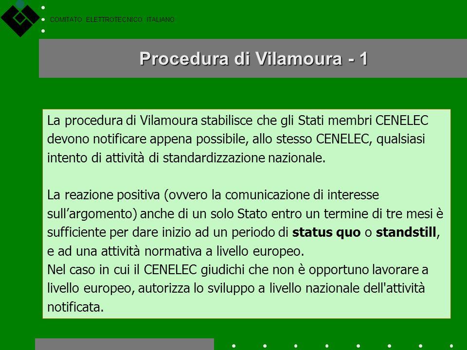 COMITATO ELETTROTECNICO ITALIANO I documenti normativi CEI vengono preparati nellambito dei Comitati Tecnici o dei SottoComitati, a cui possono partec