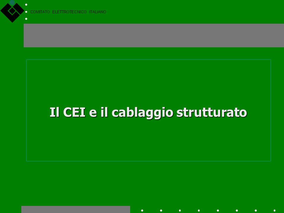 COMITATO ELETTROTECNICO ITALIANO I lavori del CEI si svolgono tramite posta elettronica e altri strumenti informatici, ma soprattutto tramite le tradi