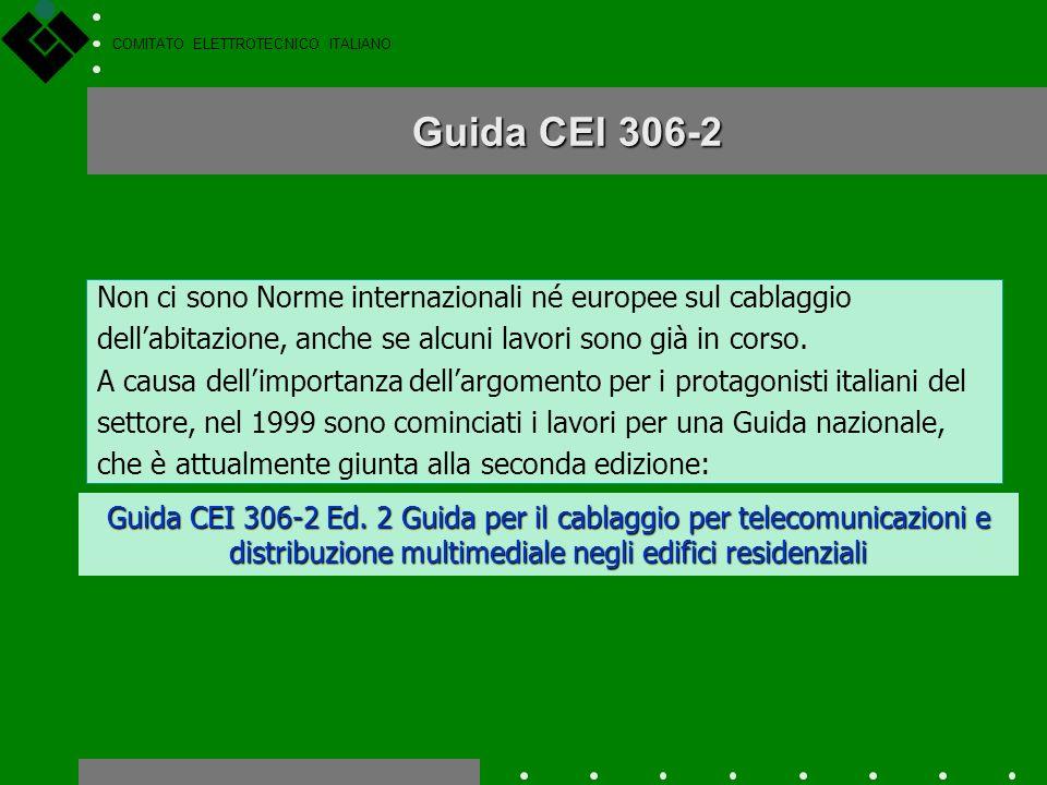 COMITATO ELETTROTECNICO ITALIANO La maggiore varietà di servizi, in particolare quelli relativi alla televisione, richiedono lintroduzione di un nuovo
