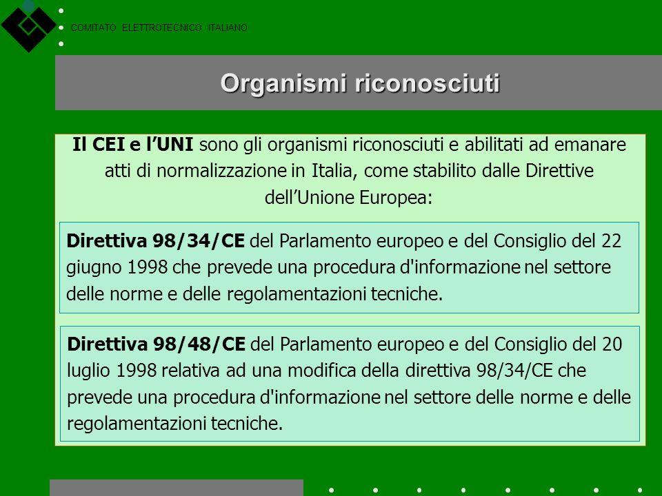 COMITATO ELETTROTECNICO ITALIANO SOCI Assemblea Comitati Tecnici e SottoComitati CST, CERT Comitato Esecutivo Revisori dei conti Collegio dei probivir