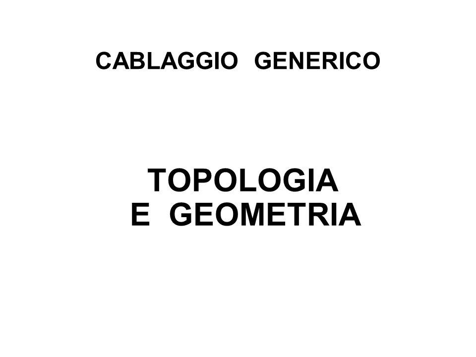 CABLAGGIO GENERICO TOPOLOGIA E GEOMETRIA