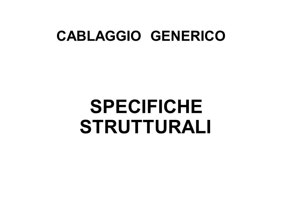 CABLAGGIO GENERICO SPECIFICHE STRUTTURALI