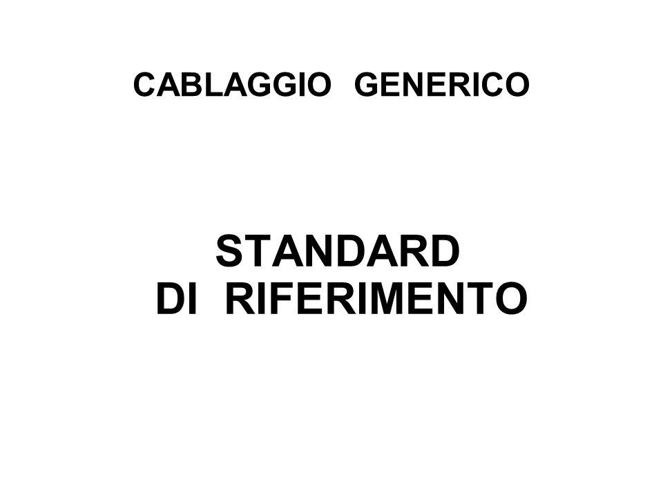 CABLAGGIO GENERICO STANDARD DI RIFERIMENTO