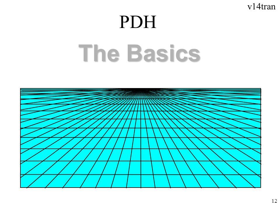 v14tran 12 PDH The Basics