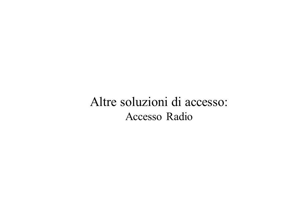 Altre soluzioni di accesso: Accesso Radio