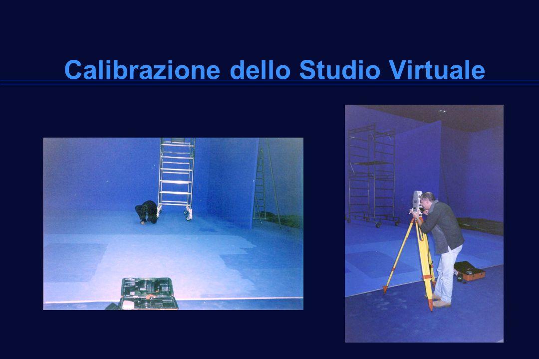 Calibrazione dello Studio Virtuale