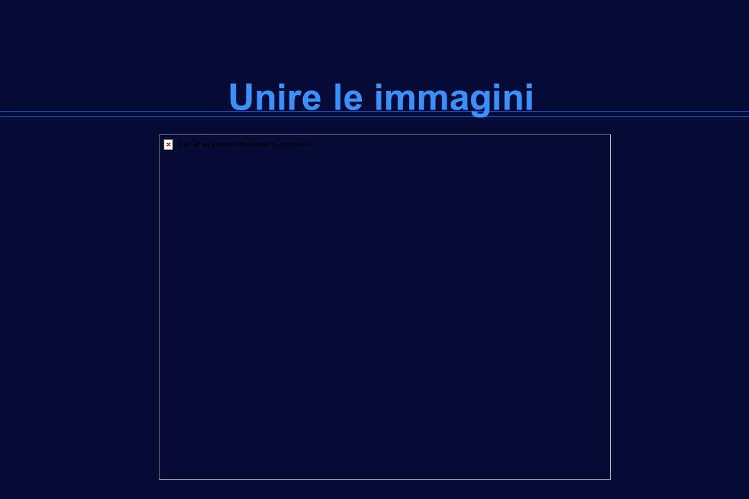 Unire le immagini