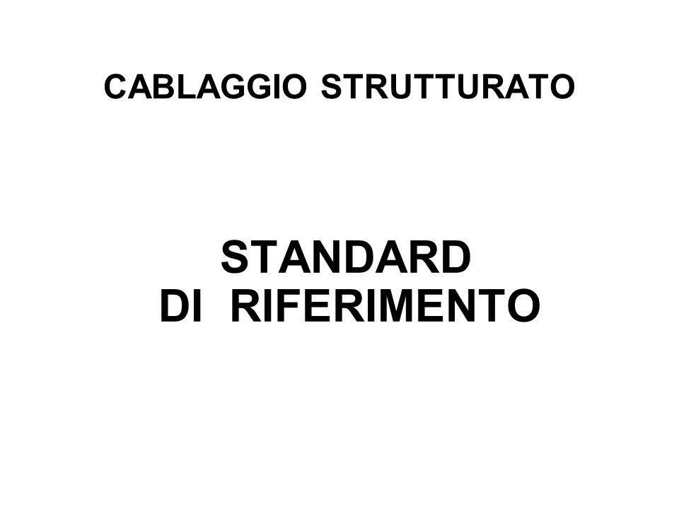 CABLAGGIO STRUTTURATO STANDARD DI RIFERIMENTO