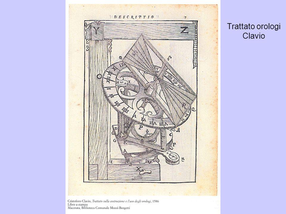 Trattato orologi Clavio