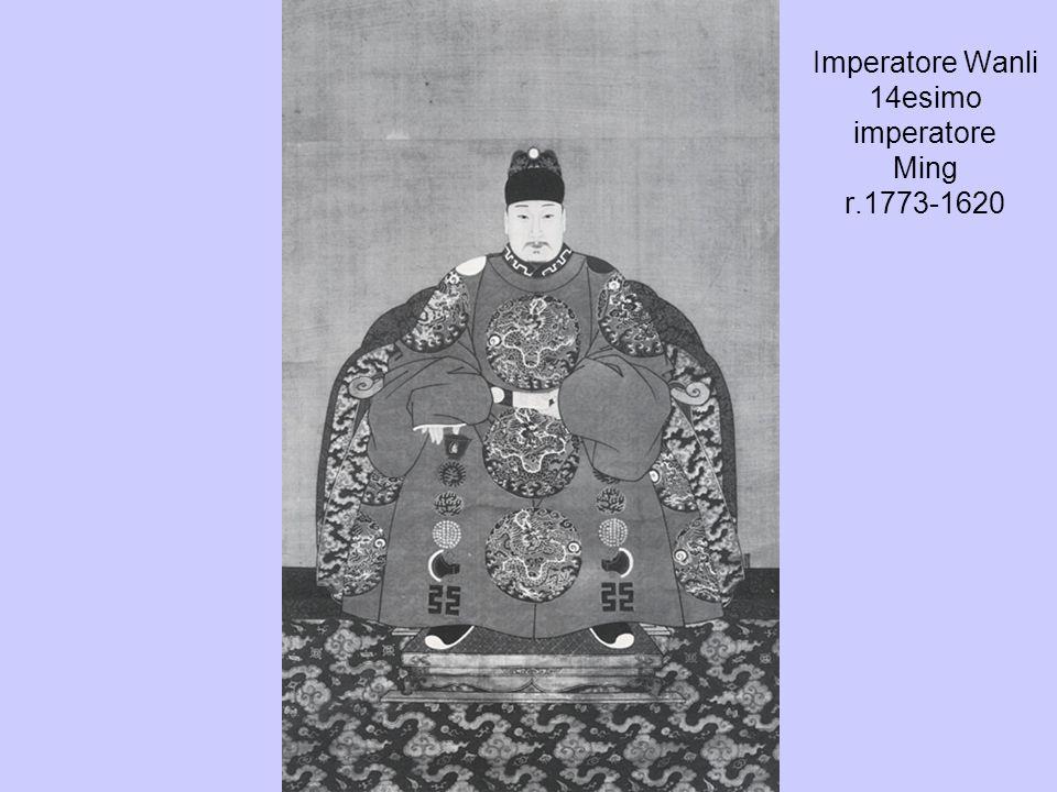 Imperatore Wanli 14esimo imperatore Ming r.1773-1620