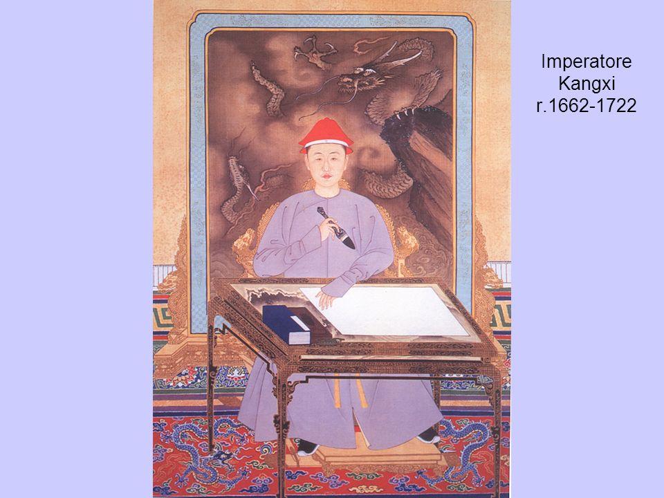 Imperatore Kangxi r.1662-1722