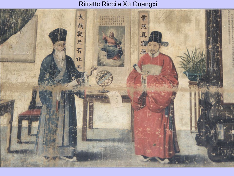 Ritratto Ricci e Xu Guangxi