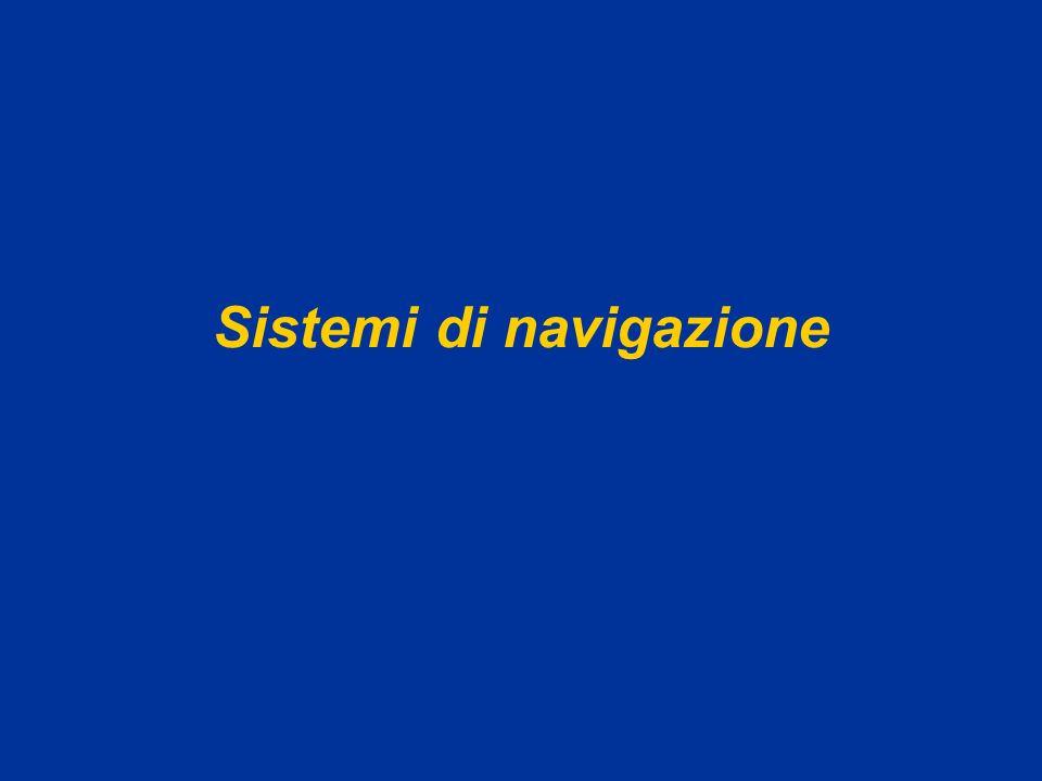 AA 2004/05Sistemi multimediali Navigazione 21