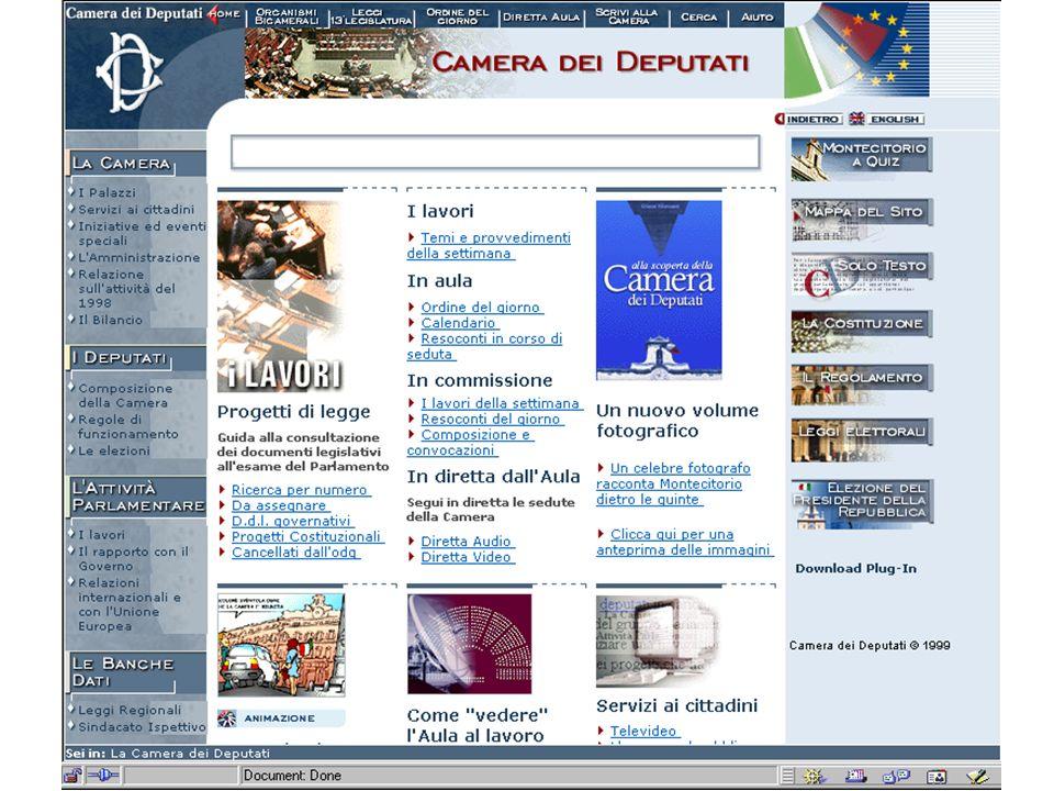 AA 2004/05Sistemi multimediali Navigazione 81