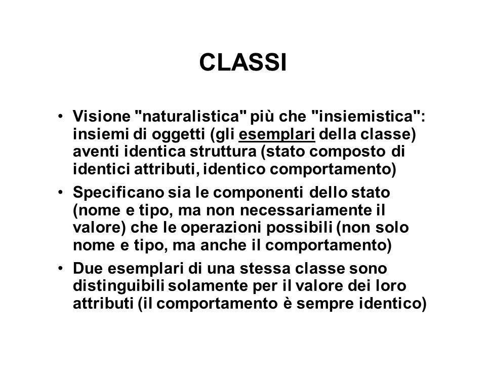 CLASSI Visione