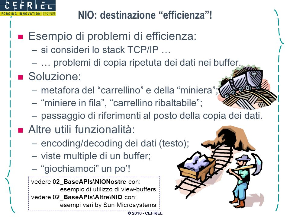 © 2010 - CEFRIEL NIO: destinazione efficienza.