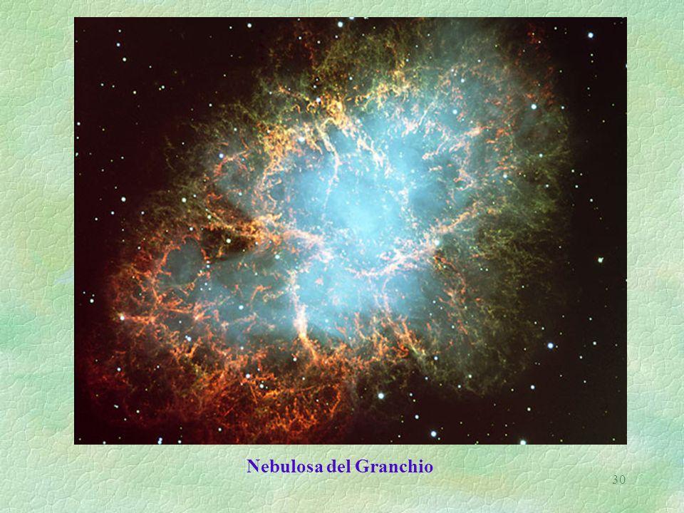 30 Nebulosa del Granchio
