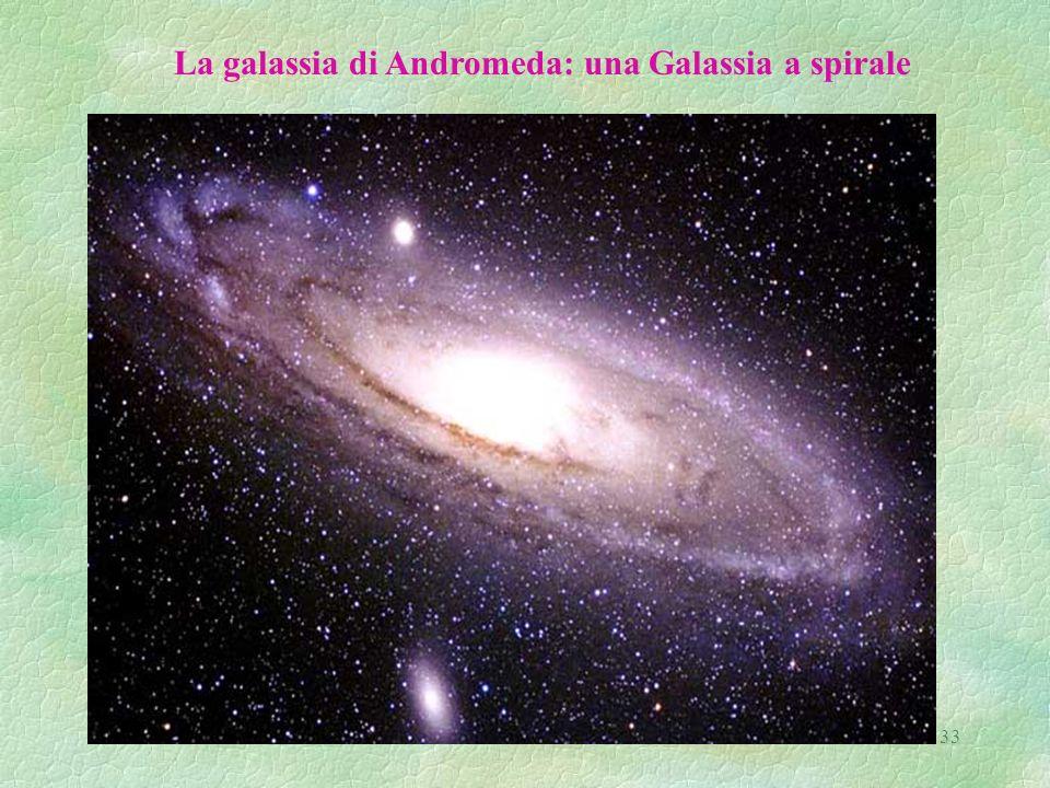33 La galassia di Andromeda: una Galassia a spirale