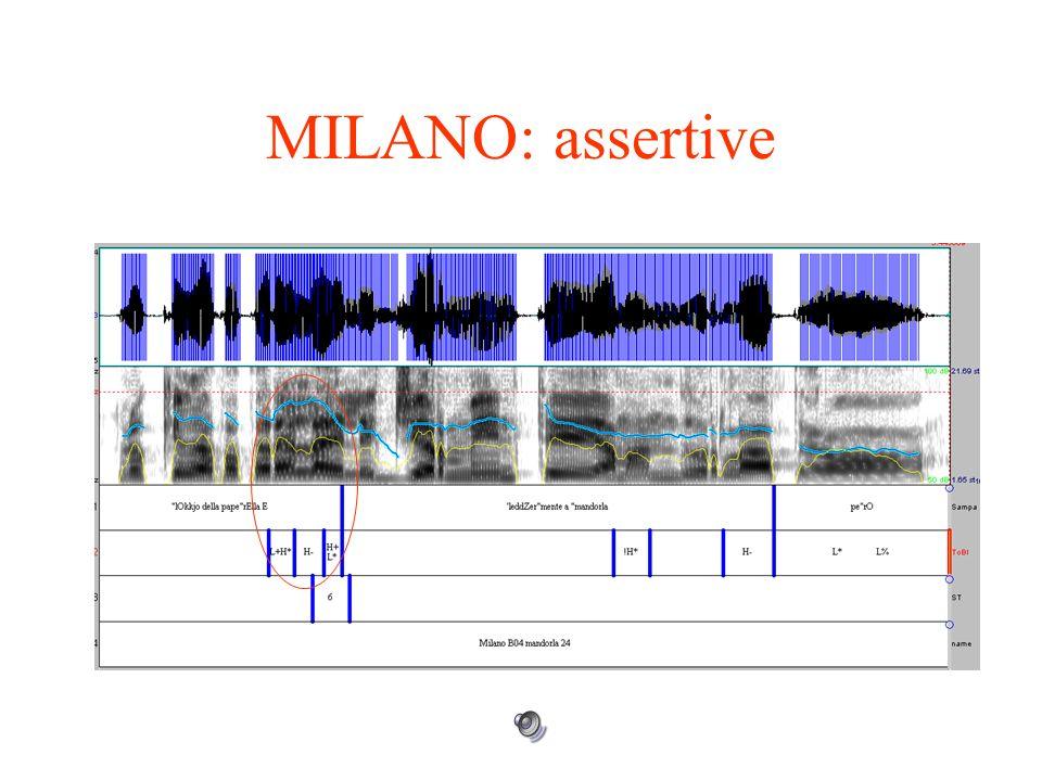 ROMA: contesti assertivi