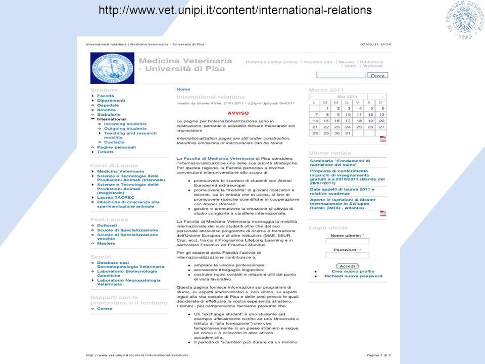 http://www.vet.unipi.it/content/international-relations