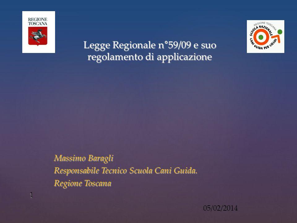 Massimo Baragli Responsabile Tecnico Scuola Cani Guida.
