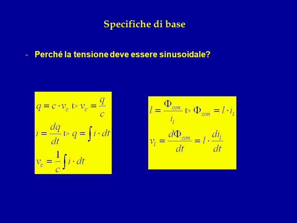 Specifiche di base -Sistema trifase (simmetrico ed equilibrato): -Antonio Pacinotti e la macchinetta (1858) -Galileo Ferraris e il campo magnetico rotante (1885)
