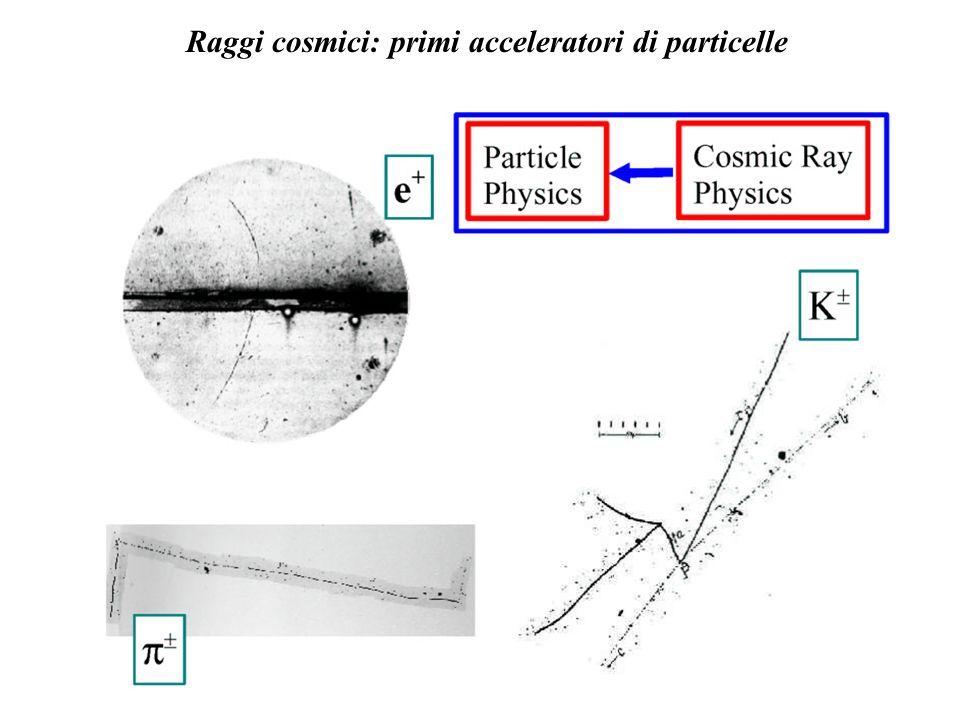 Raggi cosmici: primi acceleratori di particelle