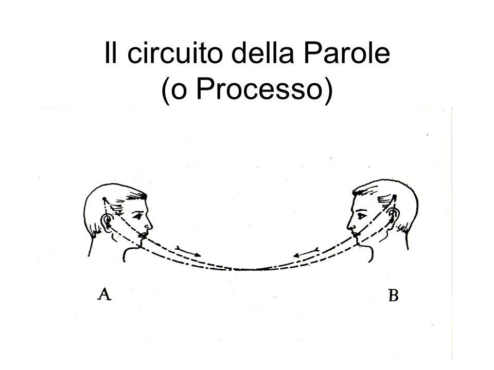 Il circuito della Parole (o Processo)