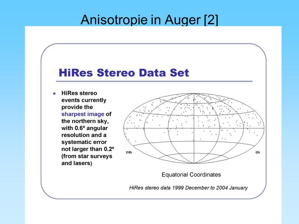 Anisotropie in Auger [2]