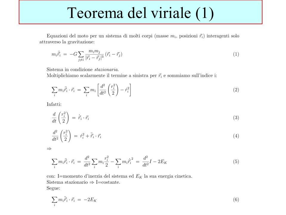 Teorema del viriale (1)