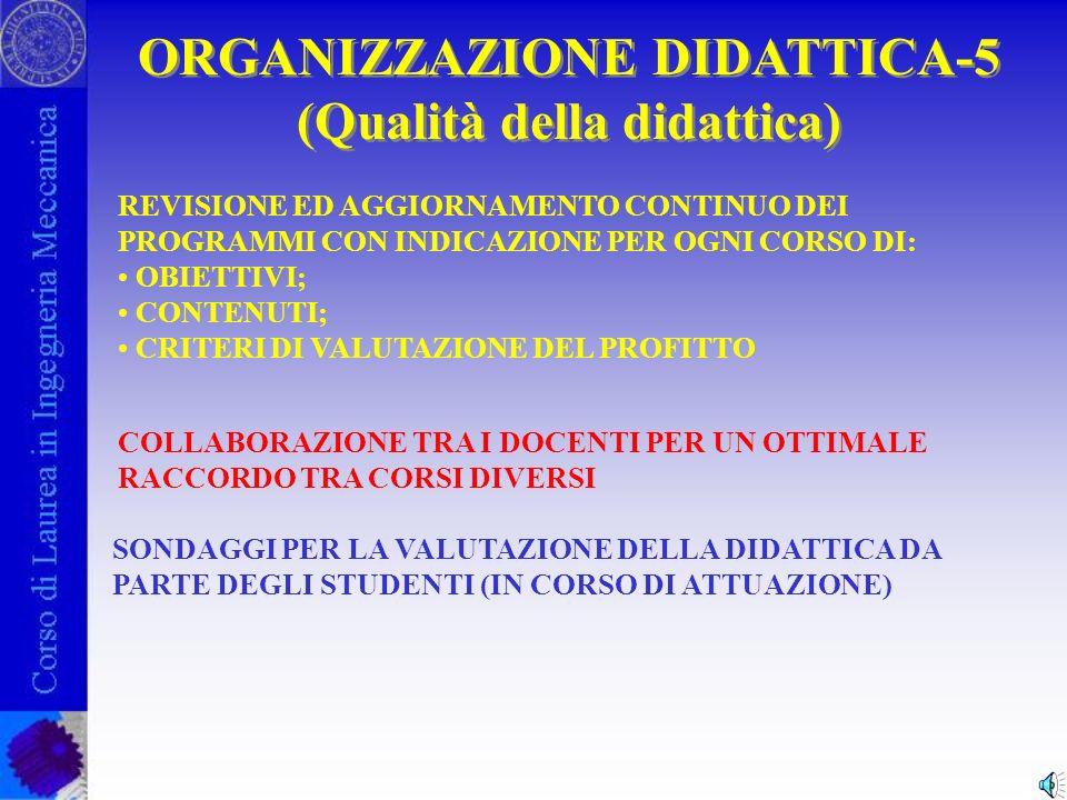 ORGANIZZAZIONE DIDATTICA-4 (Dottorato di Ricerca) ORGANIZZAZIONE DIDATTICA-4 (Dottorato di Ricerca) 3 ANNI DI DOTTORATO DI RICERCA Formazione specifica per il settore della ricerca scientifica ed industriale Ingegneria Meccanica Veicoli e sistemi di trasporto Etc.