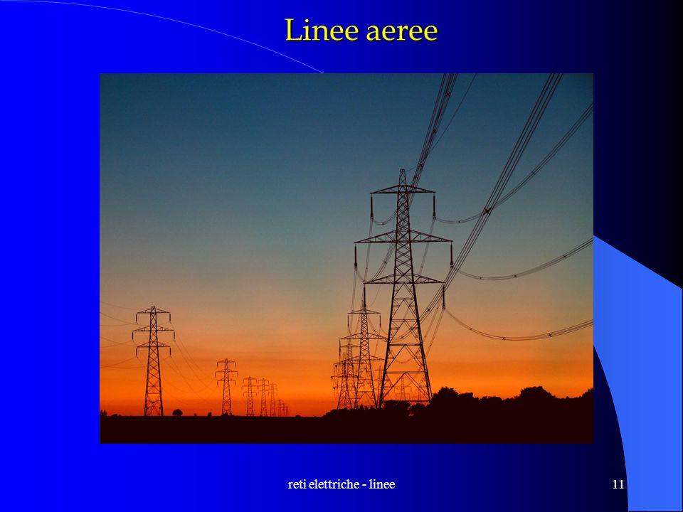 reti elettriche - linee11 Linee aeree