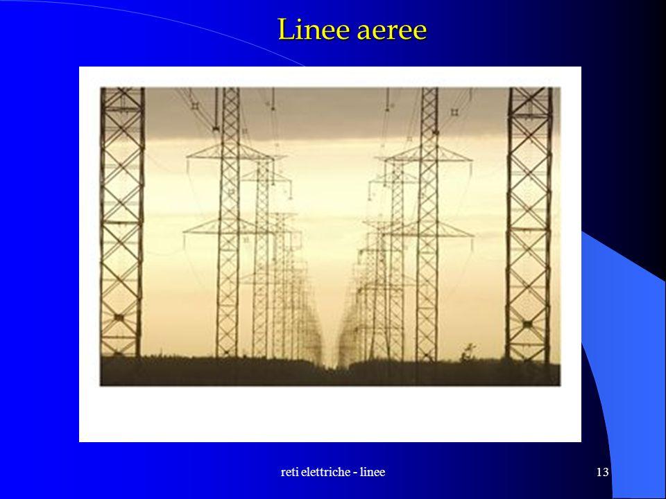 reti elettriche - linee13 Linee aeree
