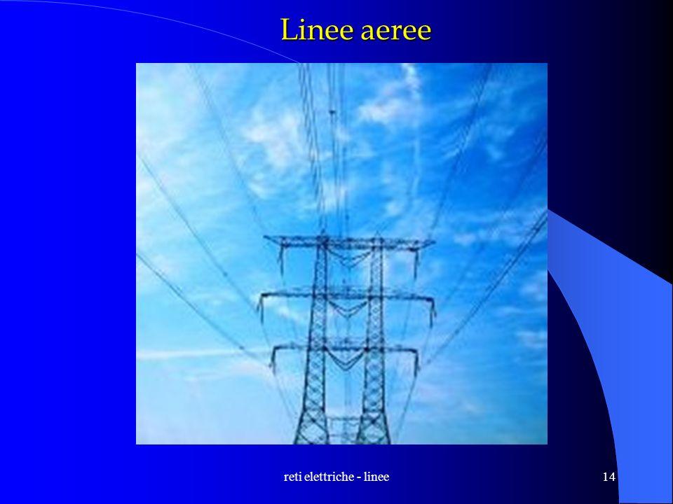 reti elettriche - linee14 Linee aeree
