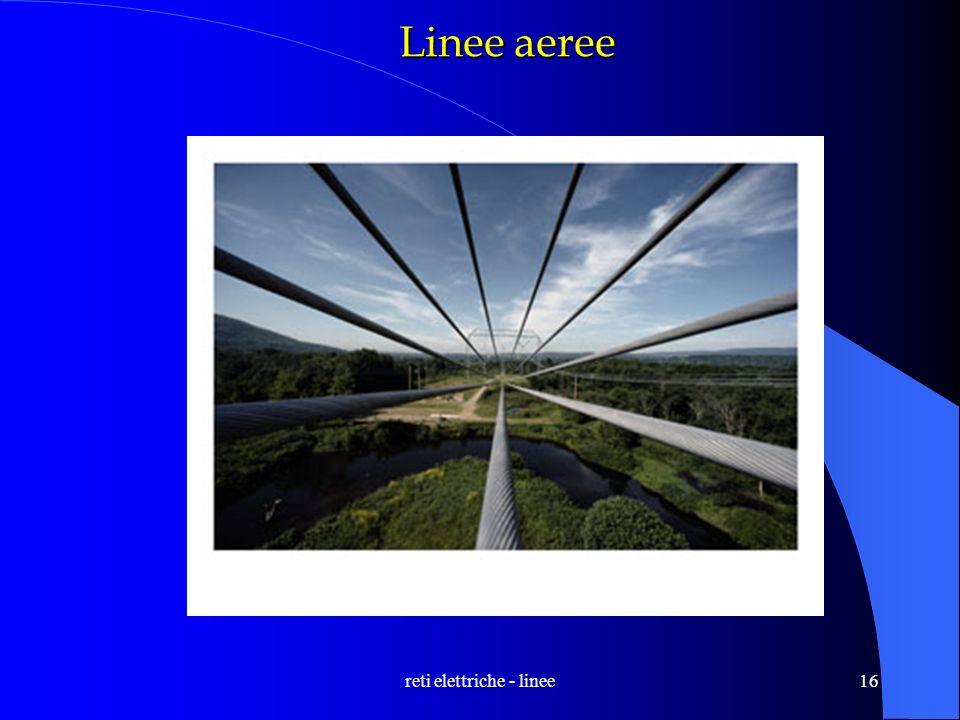 reti elettriche - linee16 Linee aeree