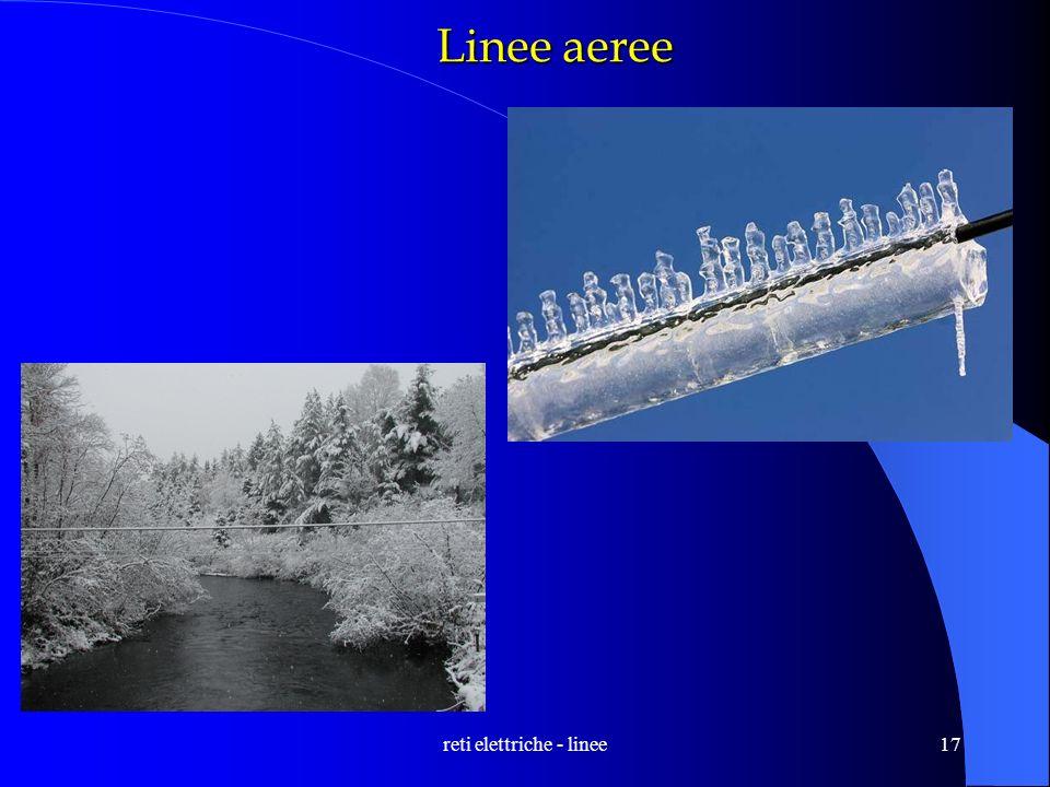 reti elettriche - linee17 Linee aeree