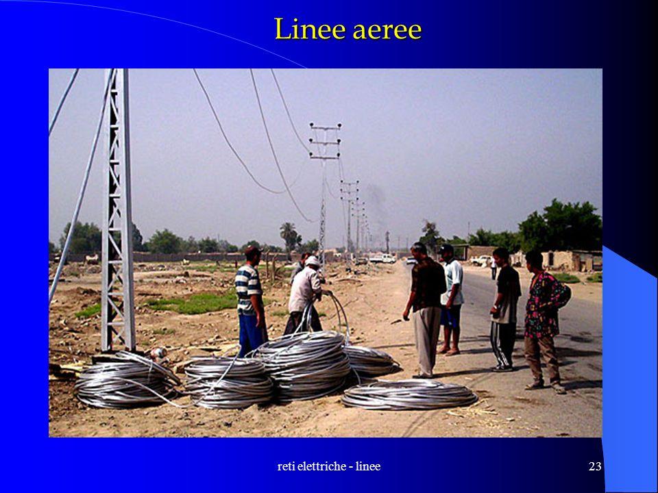 reti elettriche - linee23 Linee aeree