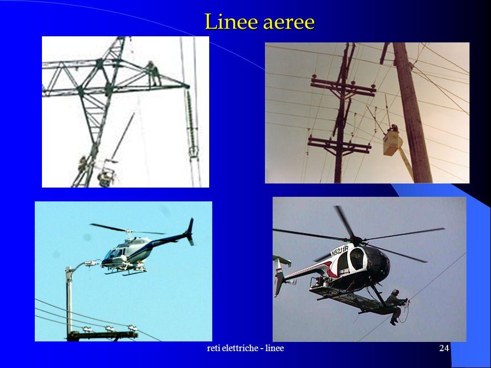 reti elettriche - linee24 Linee aeree