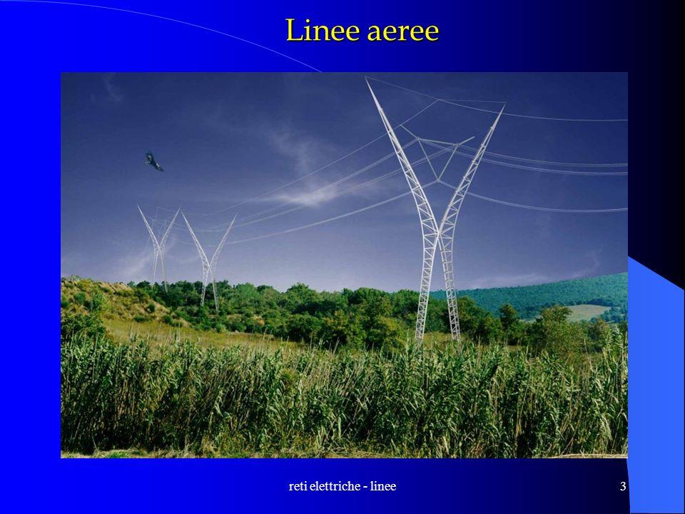 reti elettriche - linee3 Linee aeree