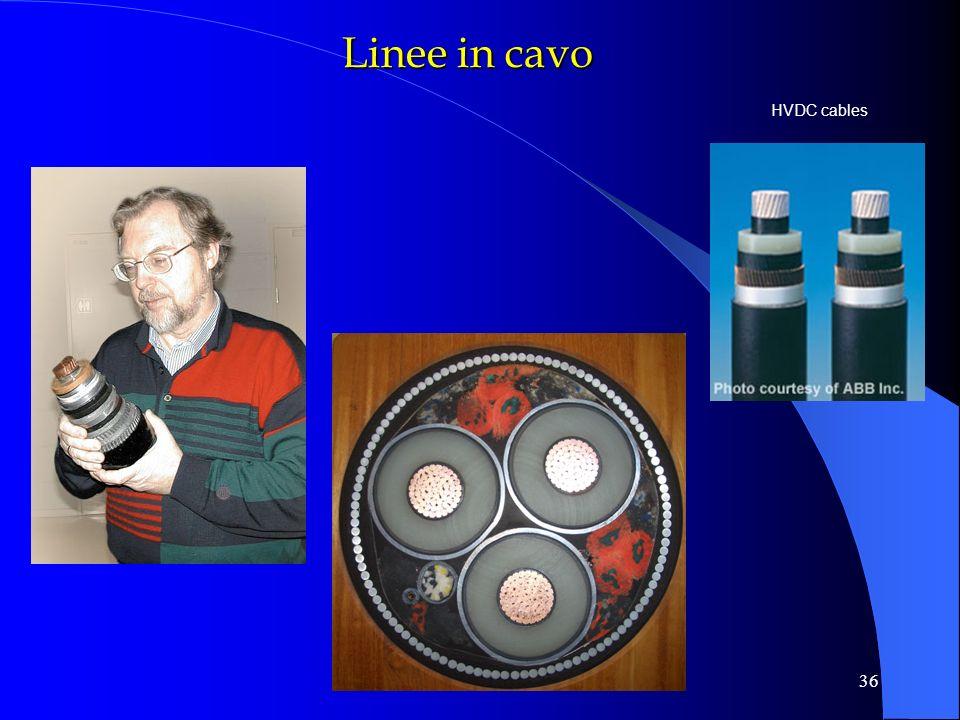 reti elettriche - linee36 HVDC cables Linee in cavo