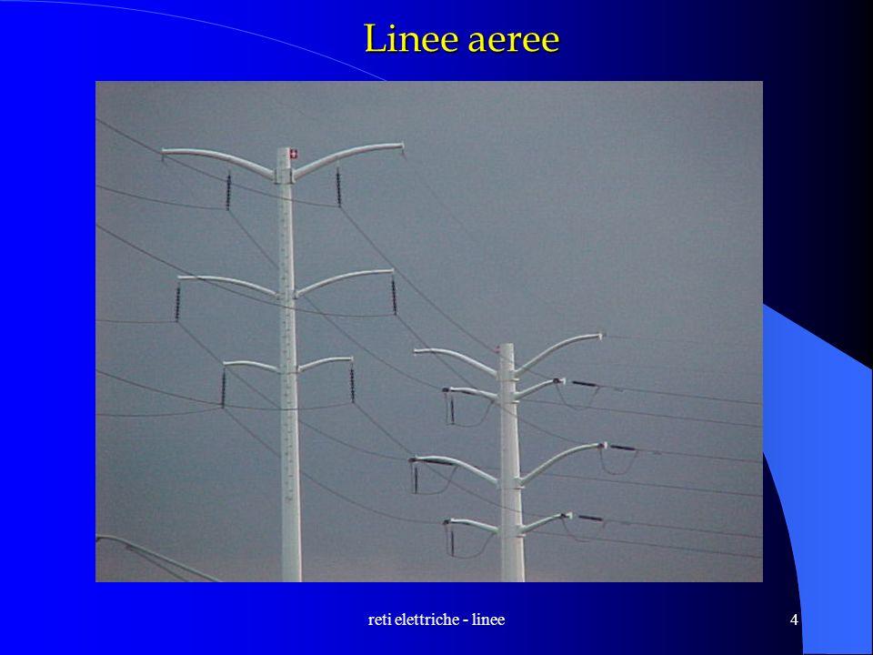 reti elettriche - linee4 Linee aeree
