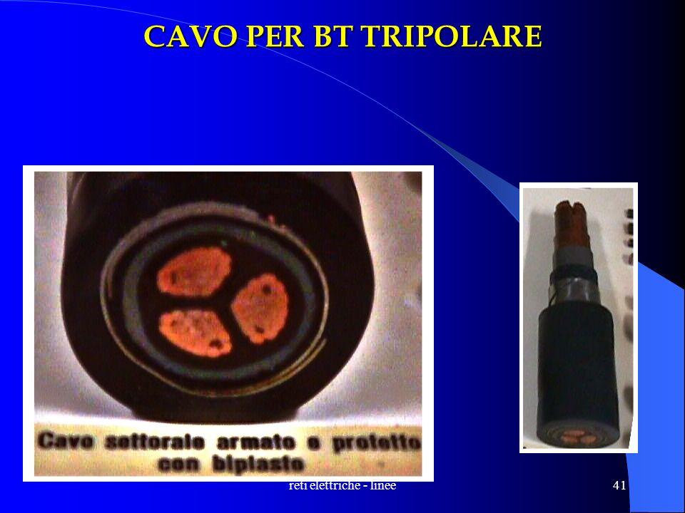 reti elettriche - linee41 CAVO PER BT TRIPOLARE