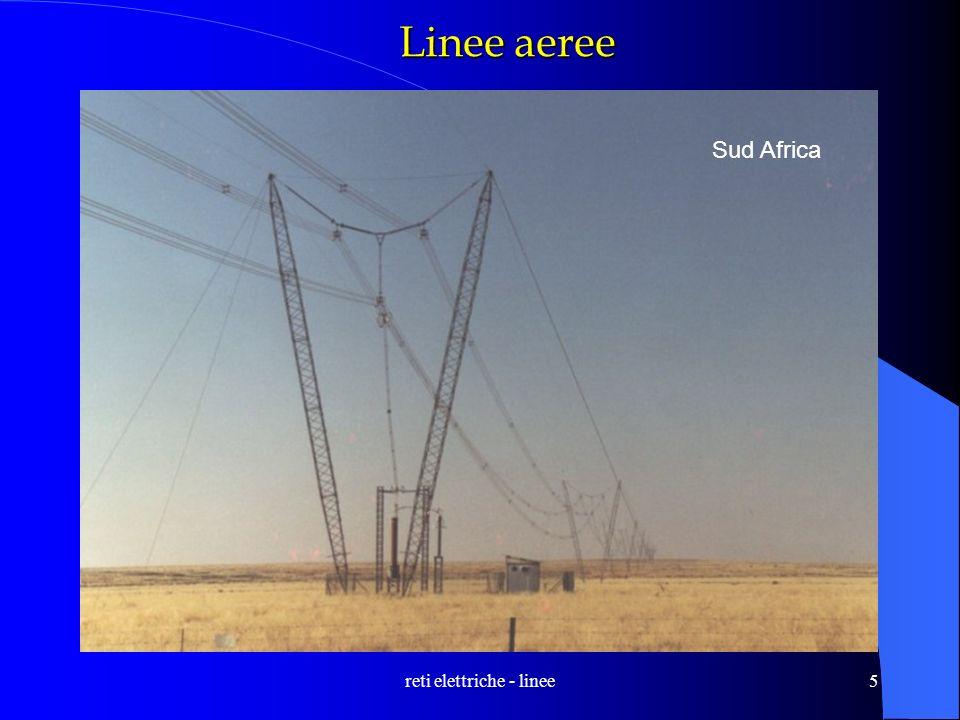 reti elettriche - linee5 Linee aeree Sud Africa