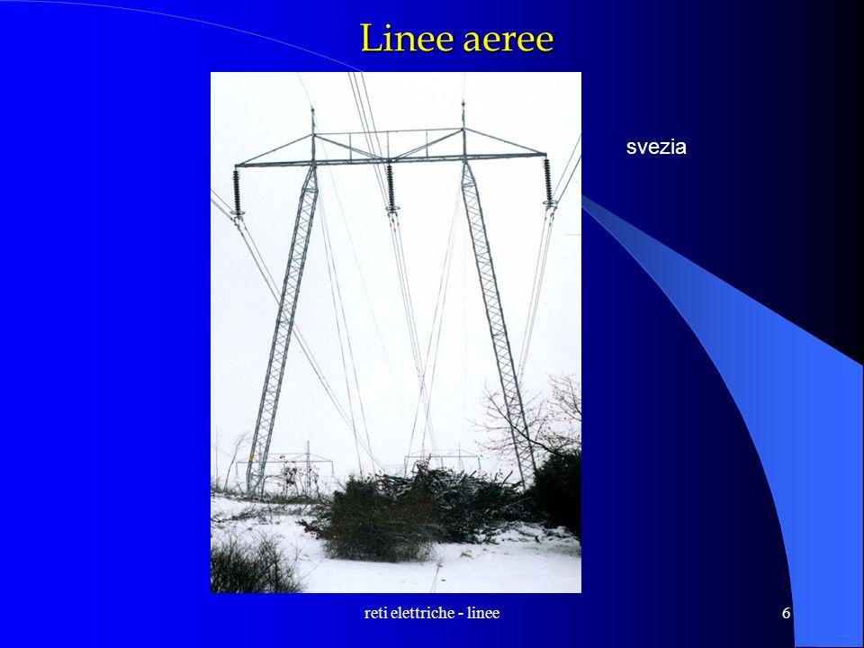 reti elettriche - linee6 Linee aeree svezia