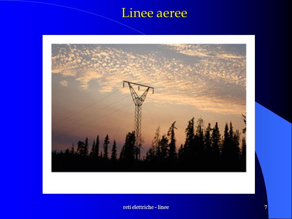 reti elettriche - linee7 Linee aeree
