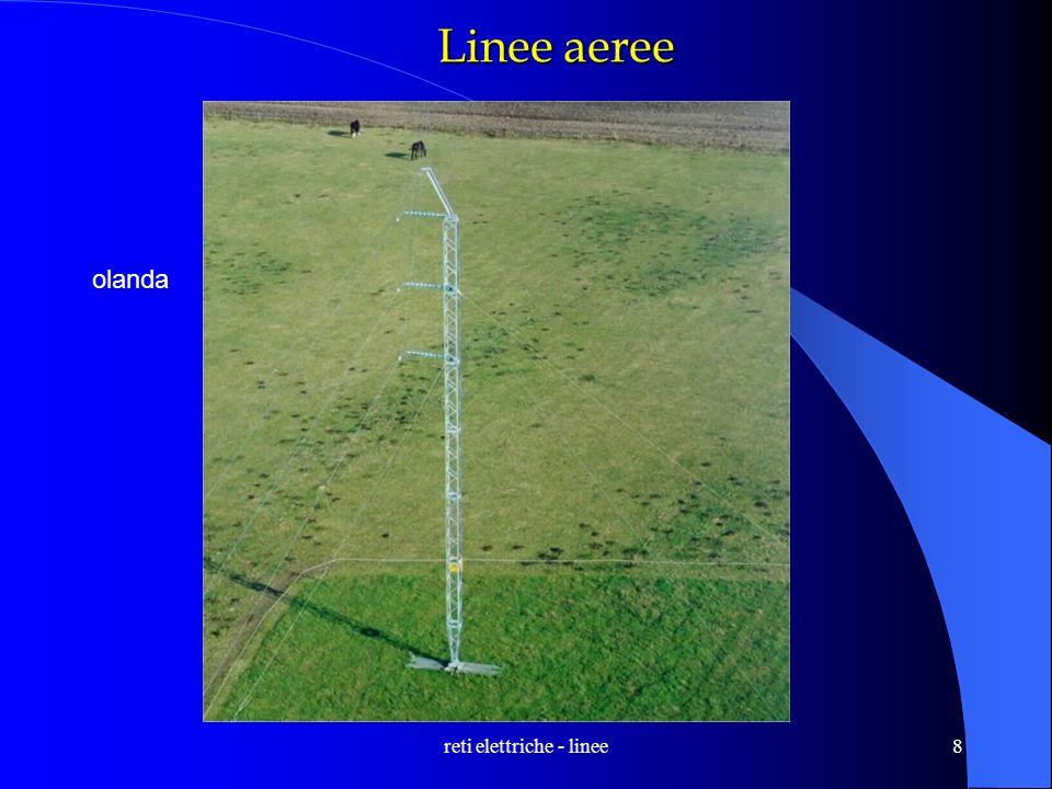 reti elettriche - linee8 Linee aeree olanda