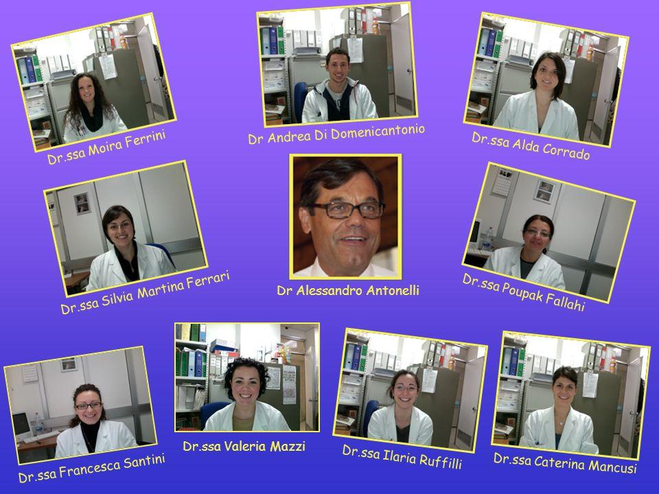 Dr.ssa Francesca Santini Dr.ssa Ilaria Ruffilli Dr.ssa Caterina Mancusi Dr.ssa Alda Corrado Dr.ssa Silvia Martina Ferrari Dr.ssa Poupak Fallahi Dr And