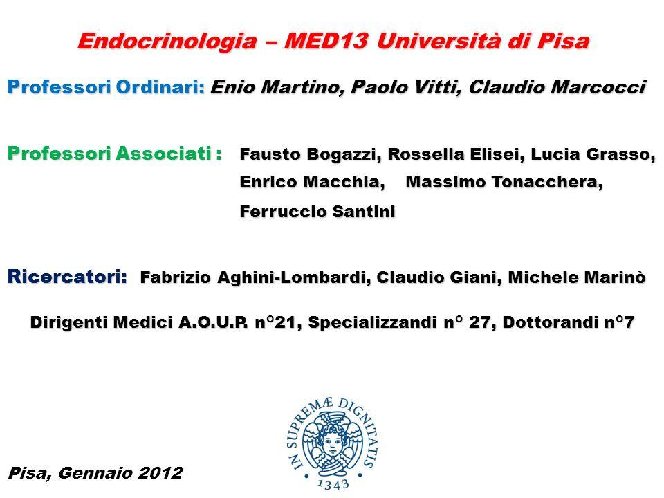 U.O.Endocrinologia 2 Direttore: Prof.