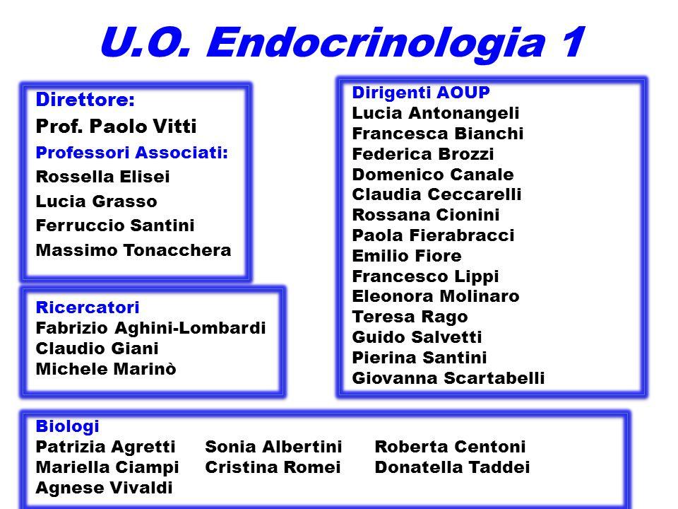 U.O.Endocrinologia 1 Direttore: Prof.