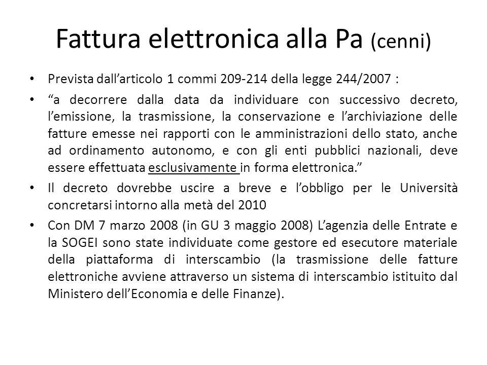 EMISSIONE DELLA FATTURA Il comma 4, primo comma, art.